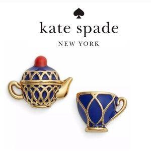 Kate Spade earrings tea cup earrings